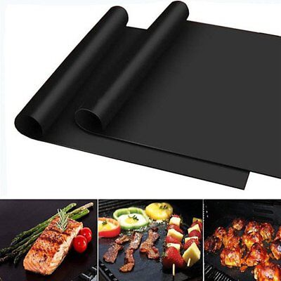 Non-Stick Oven Liner Large Teflon Baking Dishwasher Safe Reusable Spill Mat lS