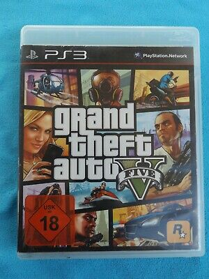 PS3-Spiel: GTA Gtand Theft Auto V - USK 18 - Playstation