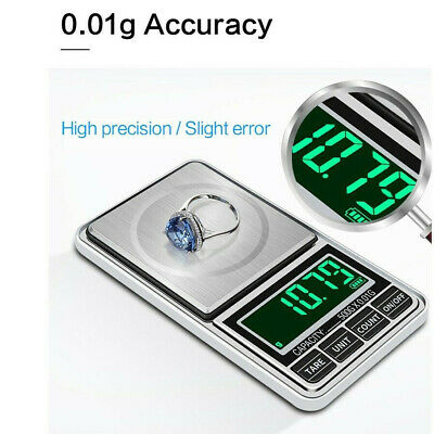 Mini High Precision Pocket Digital Household Jewelry Scales Electronic Balance