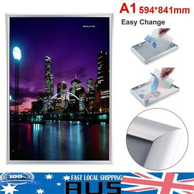 A1 60*84cm Snap Poster Frame Picture Holder Advertising Notice Display Board