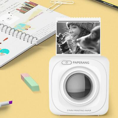Bluetooth 4.0 Thermal Picture Retro Photo Phone Pocket Instant Printer Kid Gift