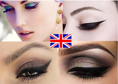 Stencils for perfect Cat Eye Liner - Smokey Eyes - 2pc - Pair of Make-up Tools!