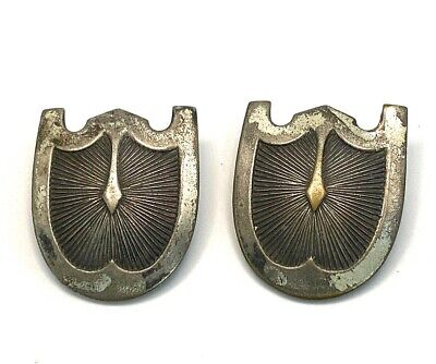 """Antique Silver Plate over Copper Belt Buckles 1x.88"""""""