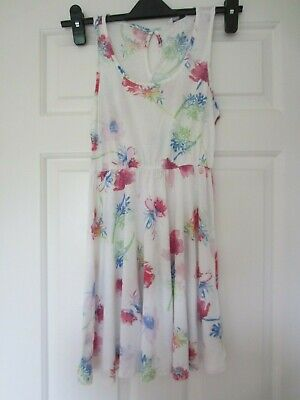 Ladies/girls sleeveless mini skater type dress - size 8 - New Look