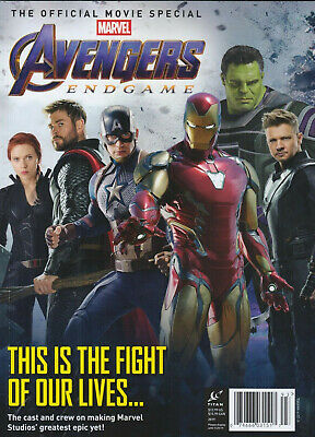 AVENGERS ENDGAME The Official Movie Special Magazine  MARVEL EDITION 2019 NEW!