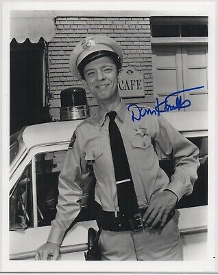 DON KNOTTS signed Andy Griffith Show 8x10 photo AUTOGRAPH IP auto Threes Company
