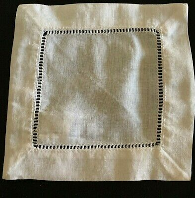 "Doilies  Laces  Ivory    6""  SQ. ( Lot, 12 pieces). New"