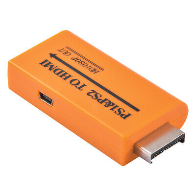 PS1/PS2 to HDMI Video Adapter Composite AV to HDMI PlayStation Converter AC1972