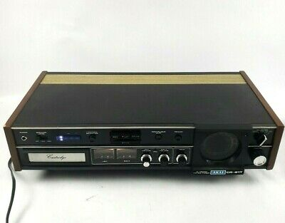 Vintage Akai CR-81T 8 Track Stereo Tape Recorder/Tuner tested