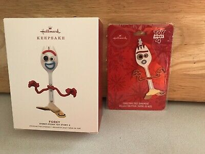 2019 Hallmark Disney/Pixar Toy Story 4 Forky Ornament Limited Release New lot