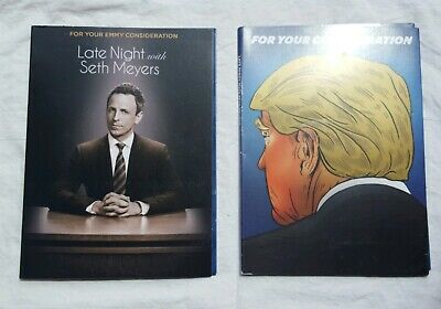 LATE NIGHT WITH SETH MEYERS - NBC FYC 2018 & 2019 Emmy DVD's, James Spader