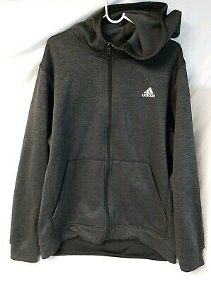 ADIDAS MENS CLIMAWARM Team issue Fleece Hoodie Save 30%!! XL