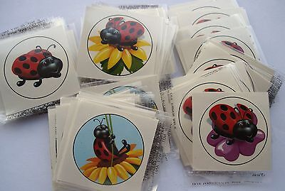 PARTIES TOYS FAVORS INSECT /& REPTILE TATTOOS LOT OF 144 CARNIVALS