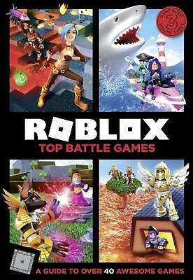 Roblox Top Battle Games by Egmont Publishing Uk Hardcover Book Free Shipping!