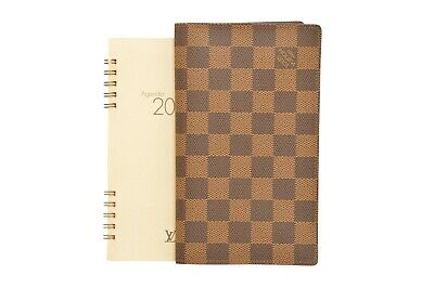 Louis Vuitton Damier Ebene Agenda Poche Notebook Cover R20703 - F00358