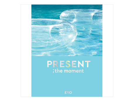 Exo - PRESENT ; the moment Photo-book (204p)+Transparent Photo Card (two types)