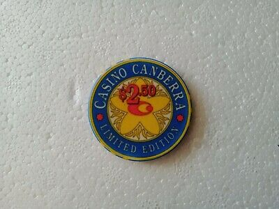 Old Casino Poker Chips limited edition Canberra casino