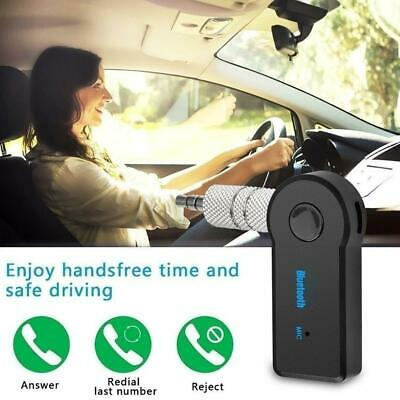 Wireless Bluetooth Receiver AUX Audio Stereo Music Car Adapter V3.0+EDR