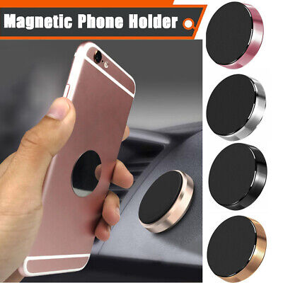In Car Magnetic Phone Holder Fits Dashboard Universal Mount Various Colours 7N