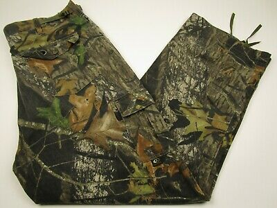 Mens Mossy Oak XL Camouflage Camo Breakup Cargo Hunting Outdoors Pants