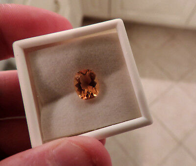 Sweet 2.30ct Ural Mountain, Russian Citrine.Cut by me :)