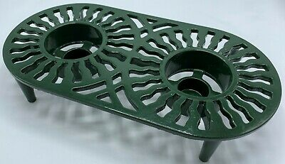 Robert Welch Design Green Cast Iron Food Heater Warmer