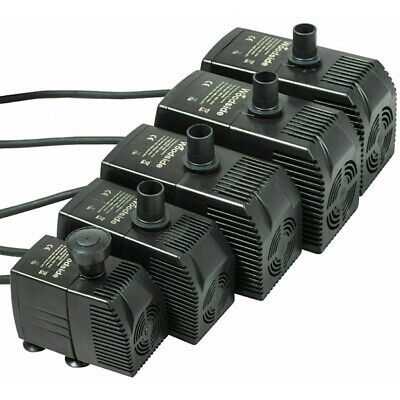 Outdoor Garden Feature Fountain Fish Tank Pond Completely Submersible Water Pump