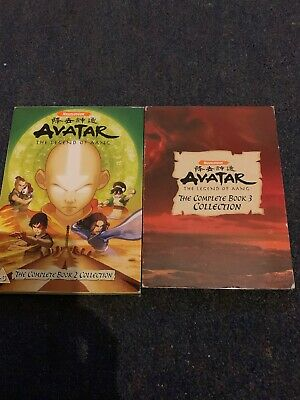 Avatar The Complete Book 2 And 3 Bundle Joblot Dvd