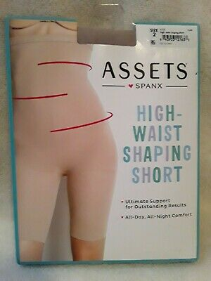 Women's High-Waist Mid-Thigh Super Control Shaper- Assests by Spanx Tan 2