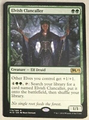 Elvish Clancaller NEW MTG Core Set 2019