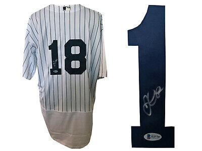 Didi Gregorius Signed New York Yankees Jersey Authentic Auto  Beckett Bas Coa 4