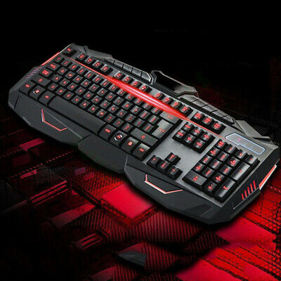 GAMING WIRELESS 2 4G Keyboard and Mouse Set Kit for Computer