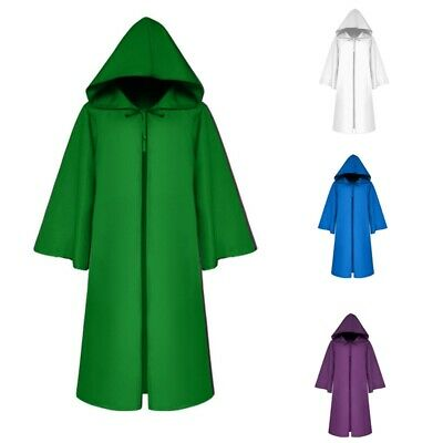 Hallowen Cloak With Oversized Hood Vampires Death Cape Mysterious Dress-up 1PC