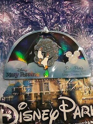 Disney Store D23 Expo 2019 Mary Poppins 55th Anniversary Pin LE 3000