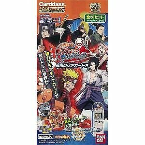 Naruto- Shippuden - Ultimate Ninja Formation Gale Clear Card 2 P From japan