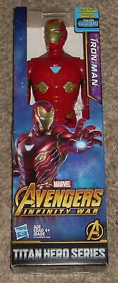 "2017 Hasbro Marvel Infinity War Iron Man Avengers Titan Hero Series 12"" Figure"