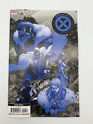Powers of X  #2  Marvel 2019  2nd Print Variant  Hickman Cover A - 2