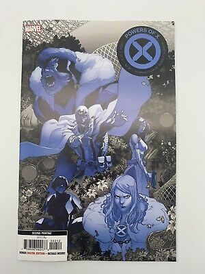 Powers of X  #2  Marvel 2019  2nd Print Variant  Hickman Cover A - 1