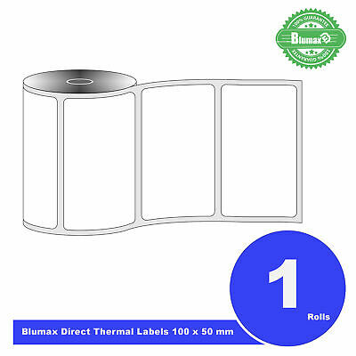 Blumax Direct Thermal 100 x 50mm Labels Zebra,Sato,Citizen,Honeywell,TSC,Codex