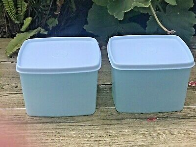 Tupperware Freeze-It Plus  set of 2 Containers (800ml) STAIN GUARD