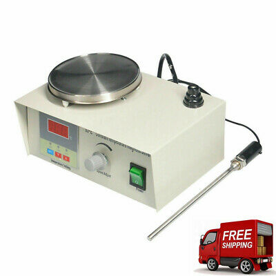Laboratory Lab Magnetic Stirrer with Heating Plate 85-2 Hotplate Mixer 220V a19