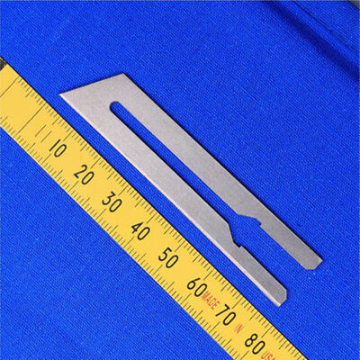 50mm Straight Blade for Electric Heating Cutter Fabric and Leather Cutting