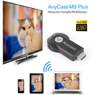 AnyCast DLNA Airplay Miracast 1080P HDMI Wifi Screen Receivers Dongle Android TV