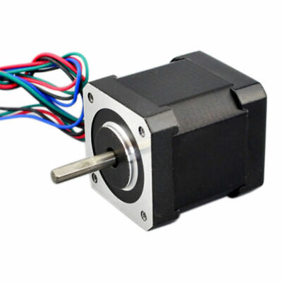 1XMetal NEMA17 Stepper Motor Bipolar 2A 59Ncm Body 4-lead FOR 3D Printer 42mm