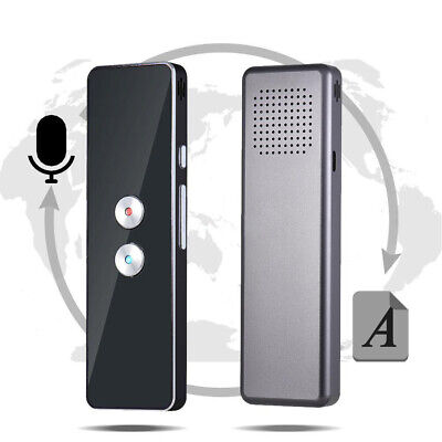 AU Smart Portable Instant Translator Voice Bluetooth Translation Device