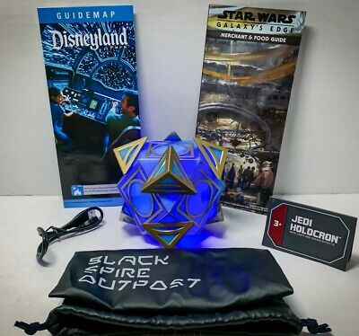 Disneyland Star Wars Galaxy's Edge Jedi Holocron Brand New Black Spire Outpost