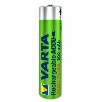 Varta puissance Batterie Accu AAA Micro 800 MAH Rechargeable Charge Rapide