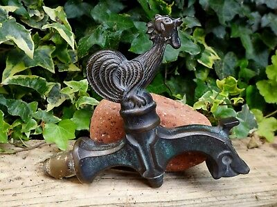 Antique Large Bronze Brass Garden Sink Wash Basin Tap with Patina Unique design