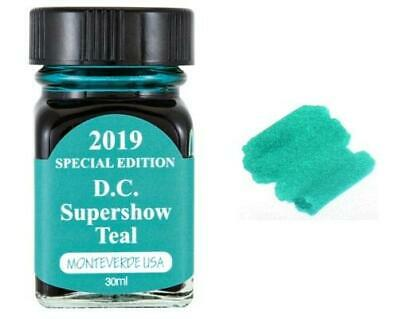 Monteverde 30ml Special Edition Fountain Pen Ink Bottle, Teal