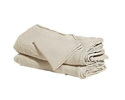 "2500 Pcs Natural Shop Towels Heavy Rags 18X18"" Commercial Cleaning A Grade Rags"